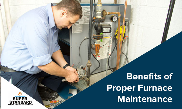 Benefits of Proper Furnace Maintenance