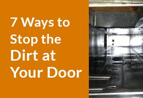Ways to Stop the Dirt at Your Door